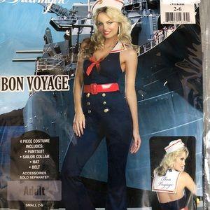 Bon Voyage Adult Costume! New!